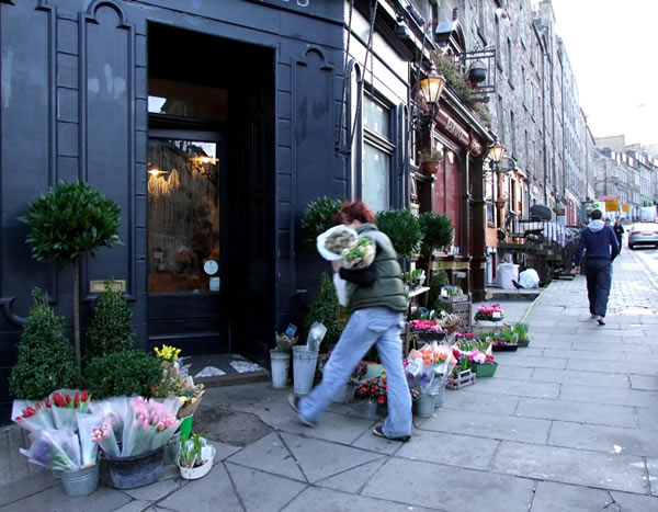 Florists on Broughton Street